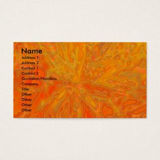 Tangerine Business Card