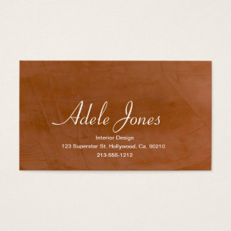 Tangerine Business Card