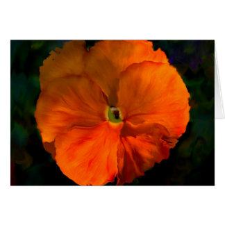 Tangerine - Customized Card