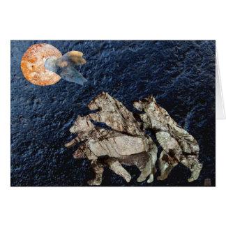 Tangerine Moon greeting card
