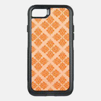 Tangerine Moroccan Damask OtterBox Commuter iPhone 8/7 Case