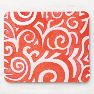 Tangerine Mousepad