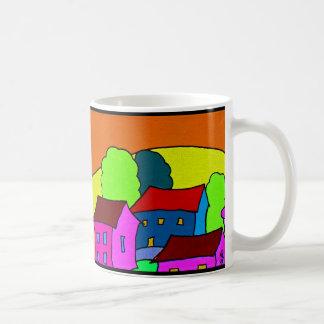 Tangerine Skies Mug