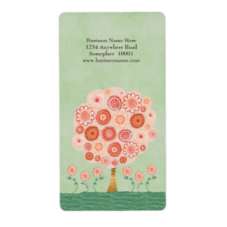 Tangerine Tree Dream Name Address Label