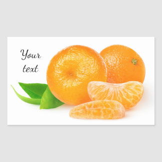 Tangerines Sticker