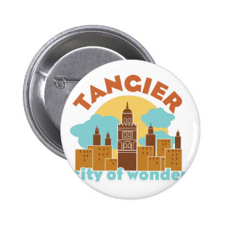 Tangier City Of Wonder 2 Inch Round Button