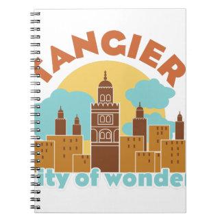 Tangier City Of Wonder Spiral Notebook