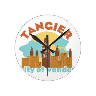 Tangier City Of Wonder Wallclock
