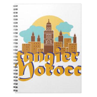 Tangier Morocco Note Books