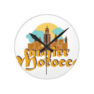 Tangier Morocco Wall Clocks