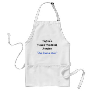 Tangina's House Cleaning Service Standard Apron