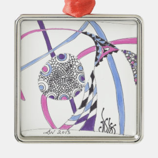 tangle bloom ornaments