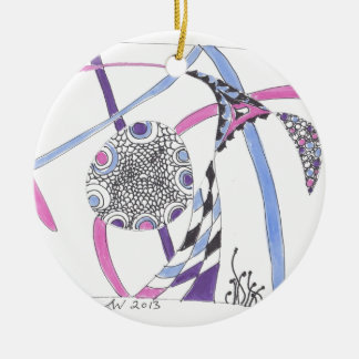 tangle bloom christmas tree ornaments