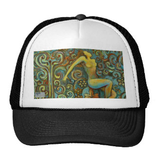 Tangle, Female Figure Art Products Trucker Hat