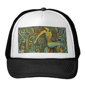 Tangle, Female Figure Art Products Trucker Hat