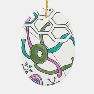 tangle swimming christmas ornaments