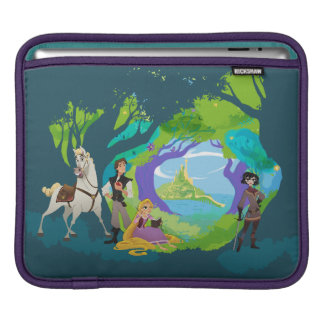 Tangled | Being a Hero is Hard Work iPad Sleeve