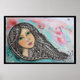 Tangled Hair 2 Poster