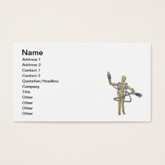 Tangled in USB Business Card