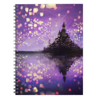 tangled movie castle Notebook (80 Pages B&W)
