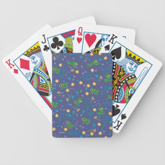 Tangled | Pascal - Purple Pattern Bicycle Playing Cards