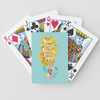 Tangled | Rapunzel - Perfect Match Bicycle Playing Cards