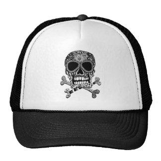 Tangled Skull and Crossbones Trucker Hat