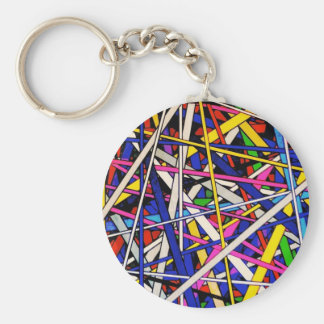 Tangled Tape Key Chains