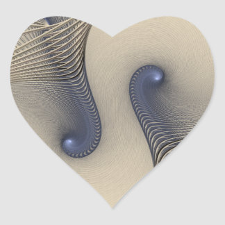 Tangled Up In Blue Heart Sticker