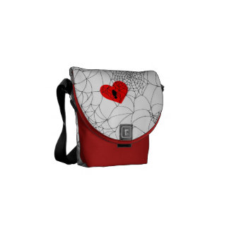 Tangled Web Courier Bag
