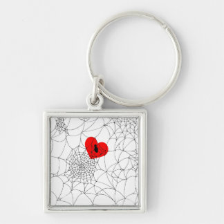 Tangled Web Keychain