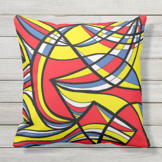 """Tango"" 20"" x 20"" Outdoor Throw Pillow"