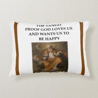 tango accent pillow
