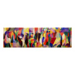 Tango Bal Bullier - Abstract Art by Sonia Delaunay Poster