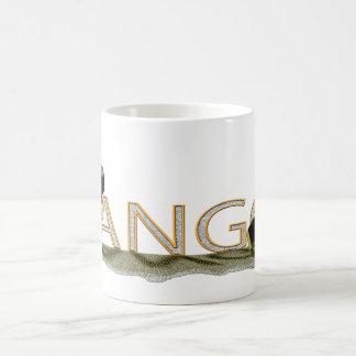 Tango bandoneon and hat large coffee mug