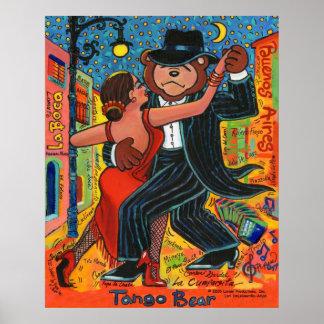 Tango Bear Print