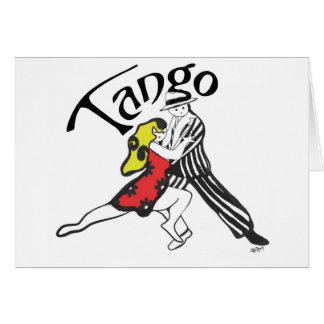 Tango Characters Card