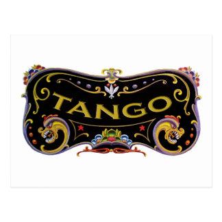 Tango cool designs! postcard