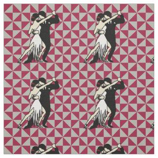 Tango Dancers Fabric