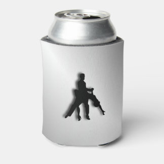 Tango Dancers Silhouette Can Cooler