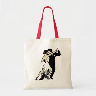 Tango Dancers Tote Bag