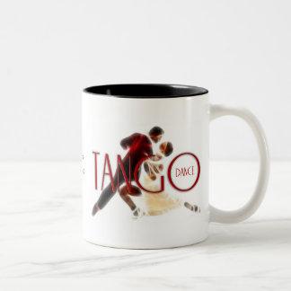 Tango dances Two-Tone coffee mug