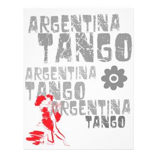 Tango Dancing Flyer