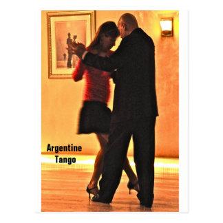 Tango Gig Postcard
