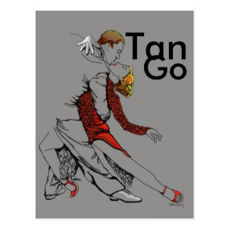 Tango Intimacy Postcard