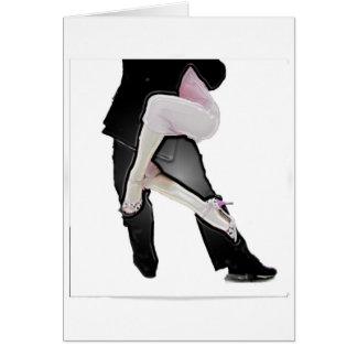 Tango legs card