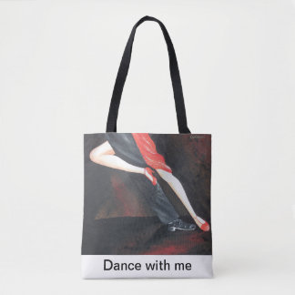 Tango Legs tote bag for every occasion!