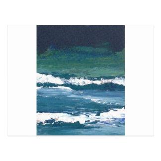 Tango of the Sea Ocean Waves Beach Decor Postcard