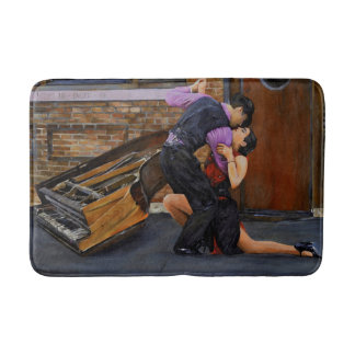Tango on the Street by Steve Berger Bath Mat