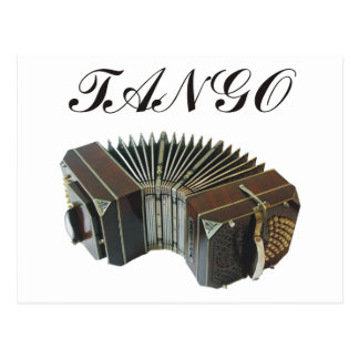 Tango Products & Designs! Argentina Music! Postcard